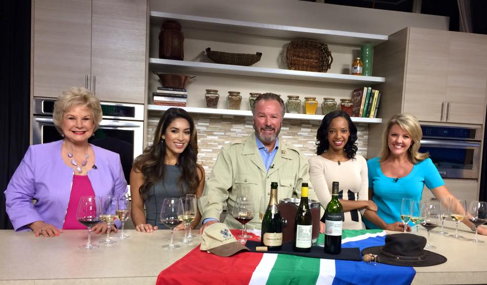 Michael talks South African wines on Suncoast View