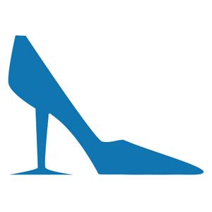 WineWomenShoes-BlueShoe