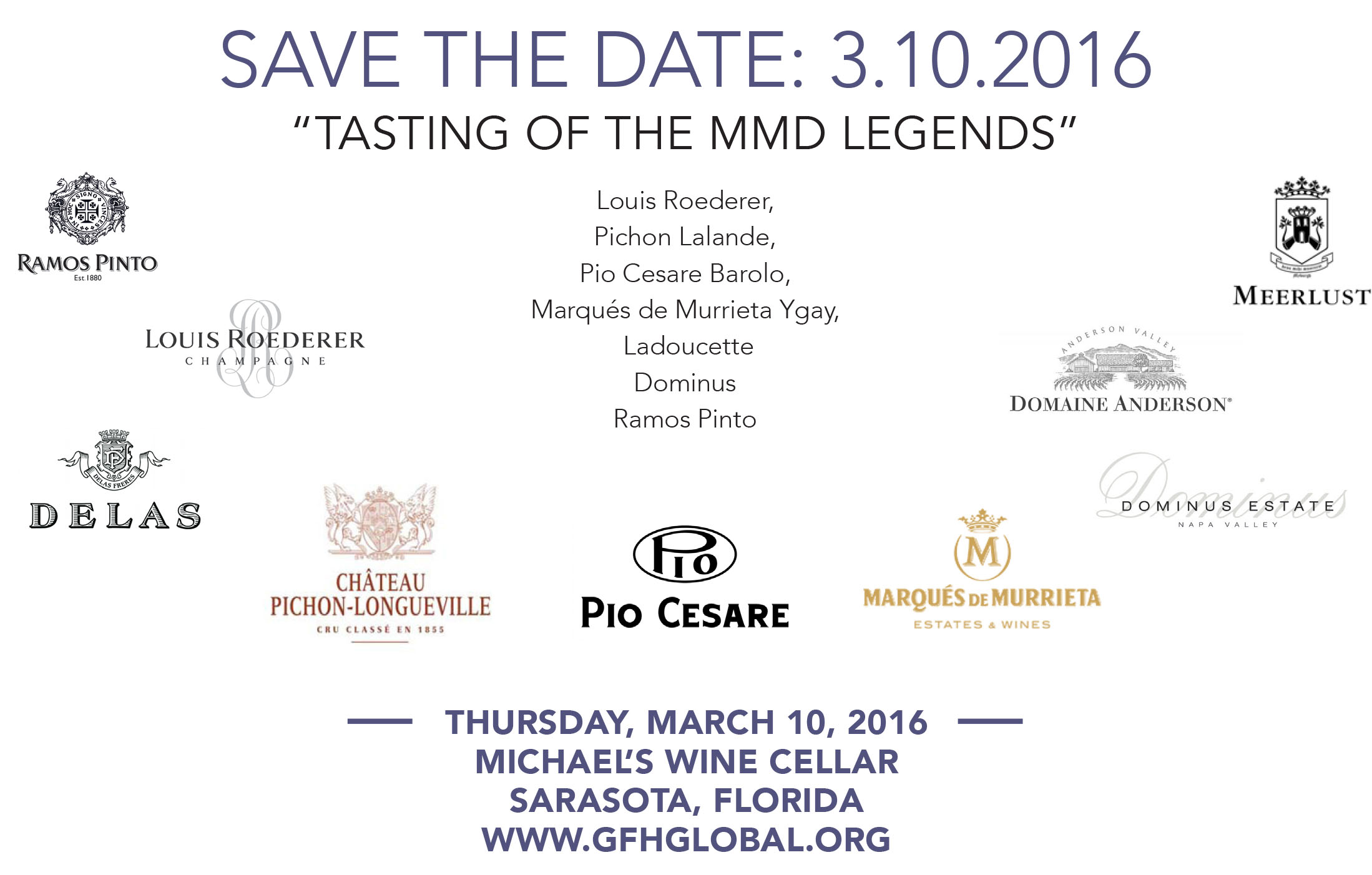 Grapes of Humanity - MMD Legends - Save the Date Ad