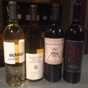 Sip and Shop wines for September