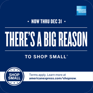 Shop Small for Big Rewards
