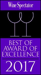 Best of Award of Excellence - Wine Spectator